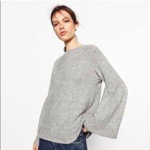 Soft Bell Sleeve Sweater